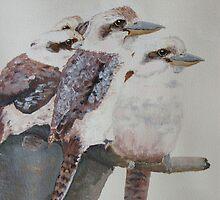 4 little kookaburras  by hamish