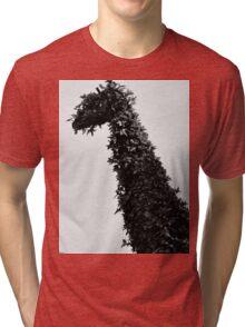 giraffe topiary Tri-blend T-Shirt