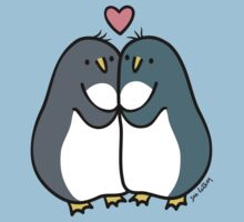 Penguin Love  Baby Tee