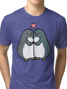 Penguin Love  Tri-blend T-Shirt