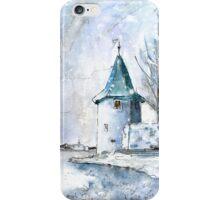 A Seagull In Lindau In Winter iPhone Case/Skin