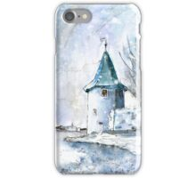 A Seagull In Lindau In Winter iPhone Case/Skin