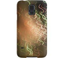 wavy firework Samsung Galaxy Case/Skin