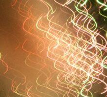 wavy firework Sticker