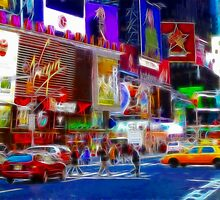 Times Square by Wendy Mogul