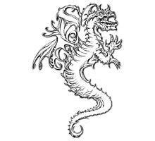 Dragon of Power Photographic Print