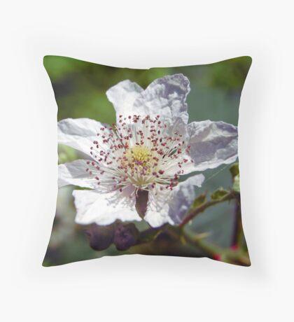 Himalayan Blackberry Throw Pillow
