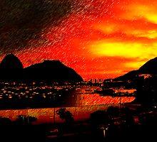 Rio de Janeiro Sunset by Cassie Sitnik