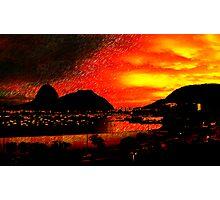 Rio de Janeiro Sunset Photographic Print