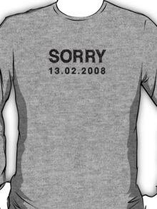 SORRY - AT LAST T-Shirt