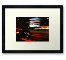 A Night on the Town Framed Print