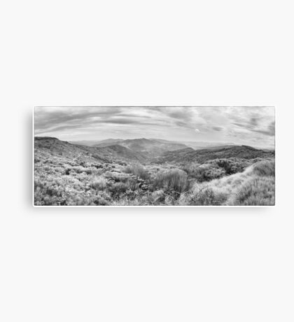 BW France Cevennes Canvas Print