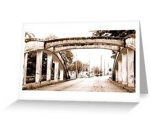 Bridges of Hilo Greeting Card