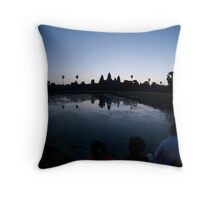 Angkor Wat Sunrise Throw Pillow