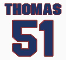 National football player Broderick Thomas jersey 51 by imsport