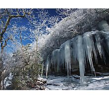 Ice Photographic Print