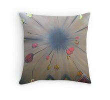 Tulips and Boatsheds Throw Pillow