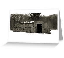 Oneida - People of the Longhouse Greeting Card
