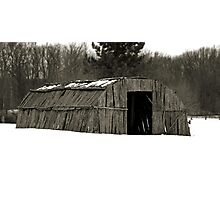 Oneida - People of the Longhouse Photographic Print