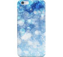 Frozen Ice Bokeh Print iPhone Case/Skin