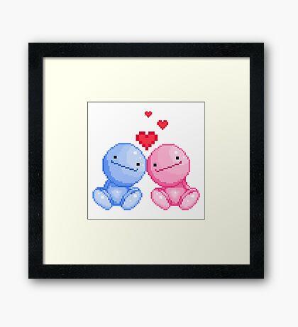 Nohohon in love Framed Print