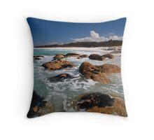 Bay Of Fires, Tasmania Throw Pillow