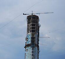 Building under construction, Mumbai, India by SheriarIrani