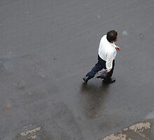 Businessman - off to a meeting, Mumbai, India by SheriarIrani