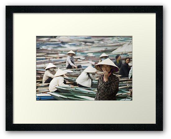 Yen Vi River Tam Coc by Chris Muscat