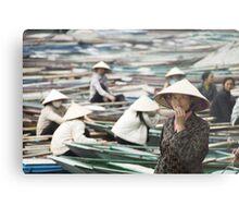 Yen Vi River Tam Coc Metal Print