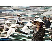 Yen Vi River Tam Coc Photographic Print