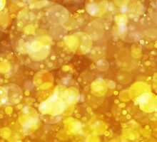 Sparkling Gold Bokeh Print by ARTiculatePRINT