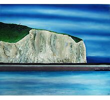 white cliffs of dover Photographic Print