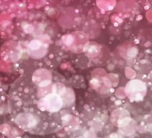 Pink Sparkling Ice Bokeh Print by ARTiculatePRINT