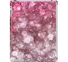 Pink Sparkling Ice Bokeh Print iPad Case/Skin