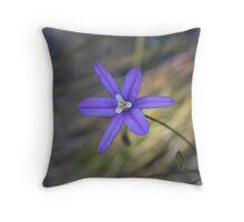 Brodiaea laxa Throw Pillow