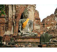 Ayutthaya Photographic Print
