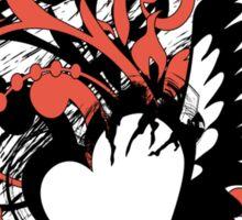 heart&wing Sticker