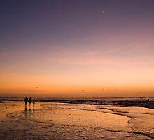 Dusk on Tuban Beach Bali by jephoto