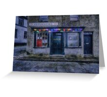 Christmas Post Office Greeting Card
