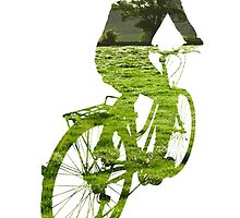 Green Transport 5 by Andrew Bret Wallis