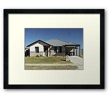suburbia 2 Framed Print