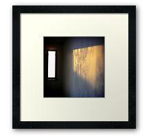 vertical horizontal paradox Framed Print