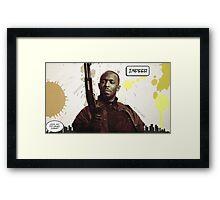 Omar's Comin' Yo! Framed Print