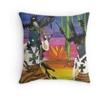 Kachinas Throw Pillow