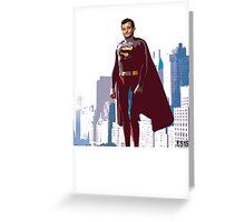 Super Murray Greeting Card