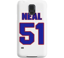 National football player Dan Neal jersey 51 Samsung Galaxy Case/Skin