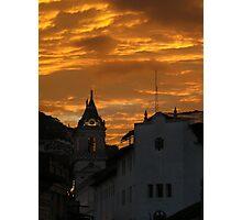 Quito Sunset Photographic Print