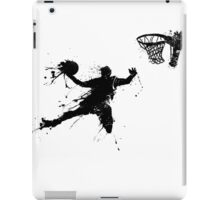 Basketballer slam dunking iPad Case/Skin