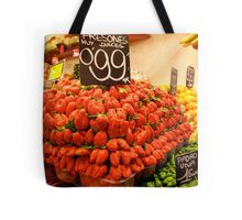 Mutant strawberries Tote Bag